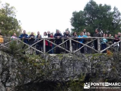 Grupillo - Senderismo Cañón del Río Lobos - madrid senderismo; viajes puente constitucion